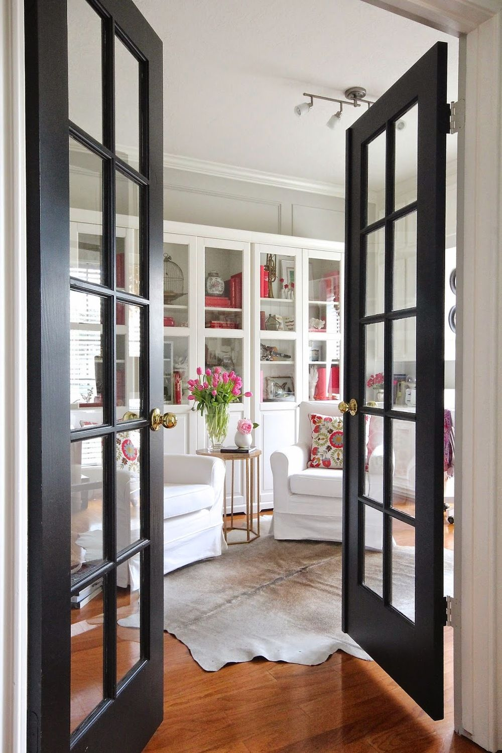 How To Make Black Interior Doors Work For You Pinterest Black