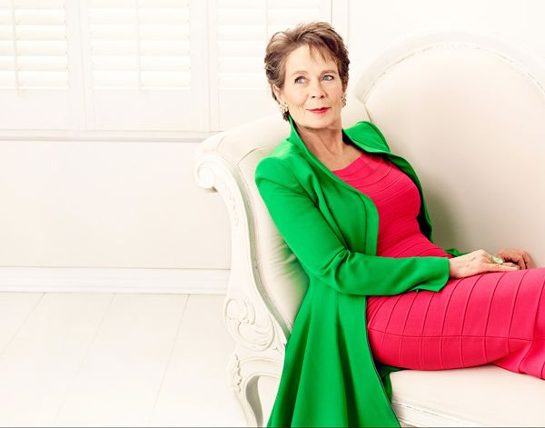 I love this coat by Catherine Walker. Celia Imrie wore it on Graham Norton too.