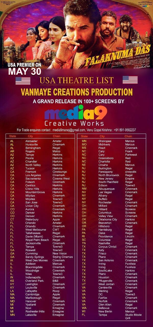 Falaknuma Das Movie Us Theaters List Social News Xyz Creative Words Movies List
