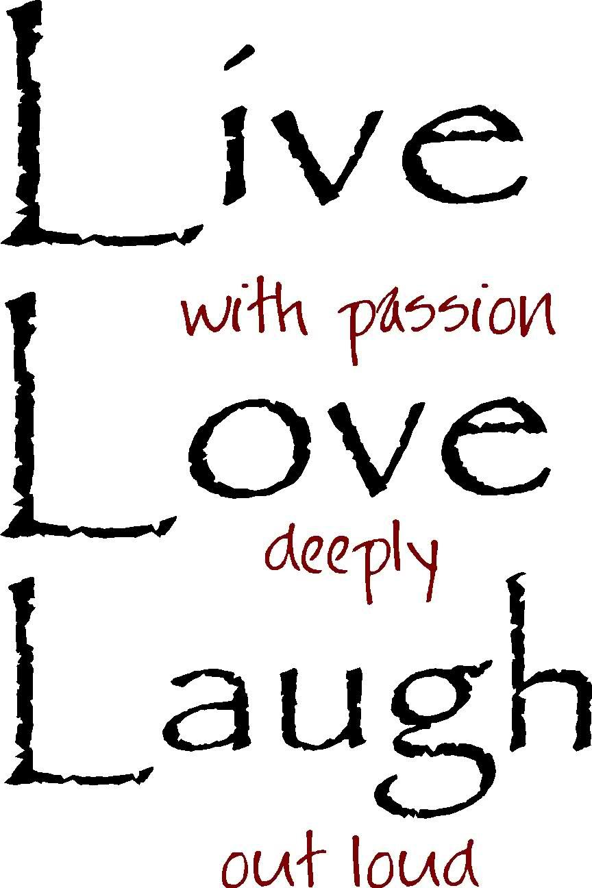 Details About Live Laugh Love Out Loud Vinyl Wall Art