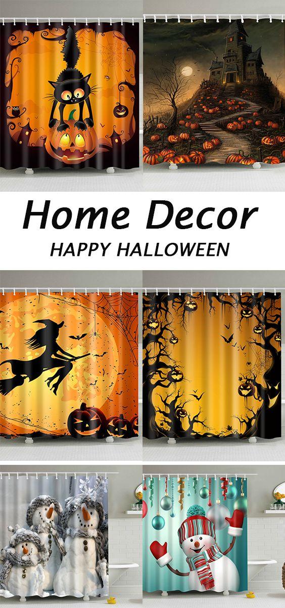 halloween decor ideas for bathroomshower curtains Holiday