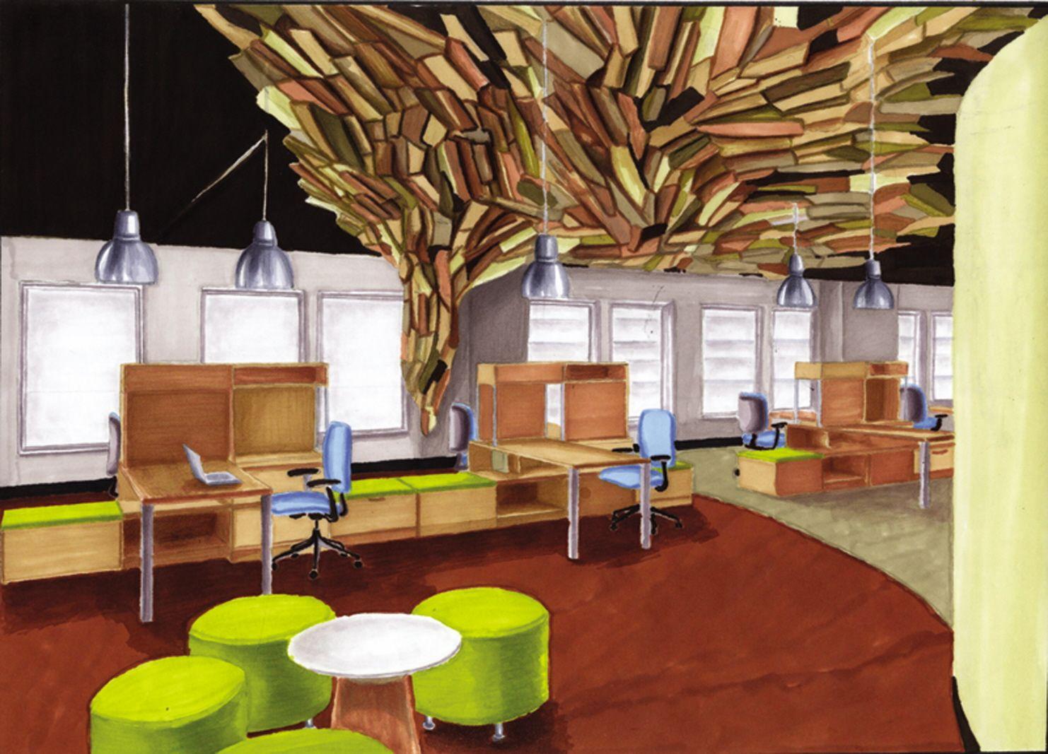 Innovative Home Office Ideas: An Innovative Office Design To Help