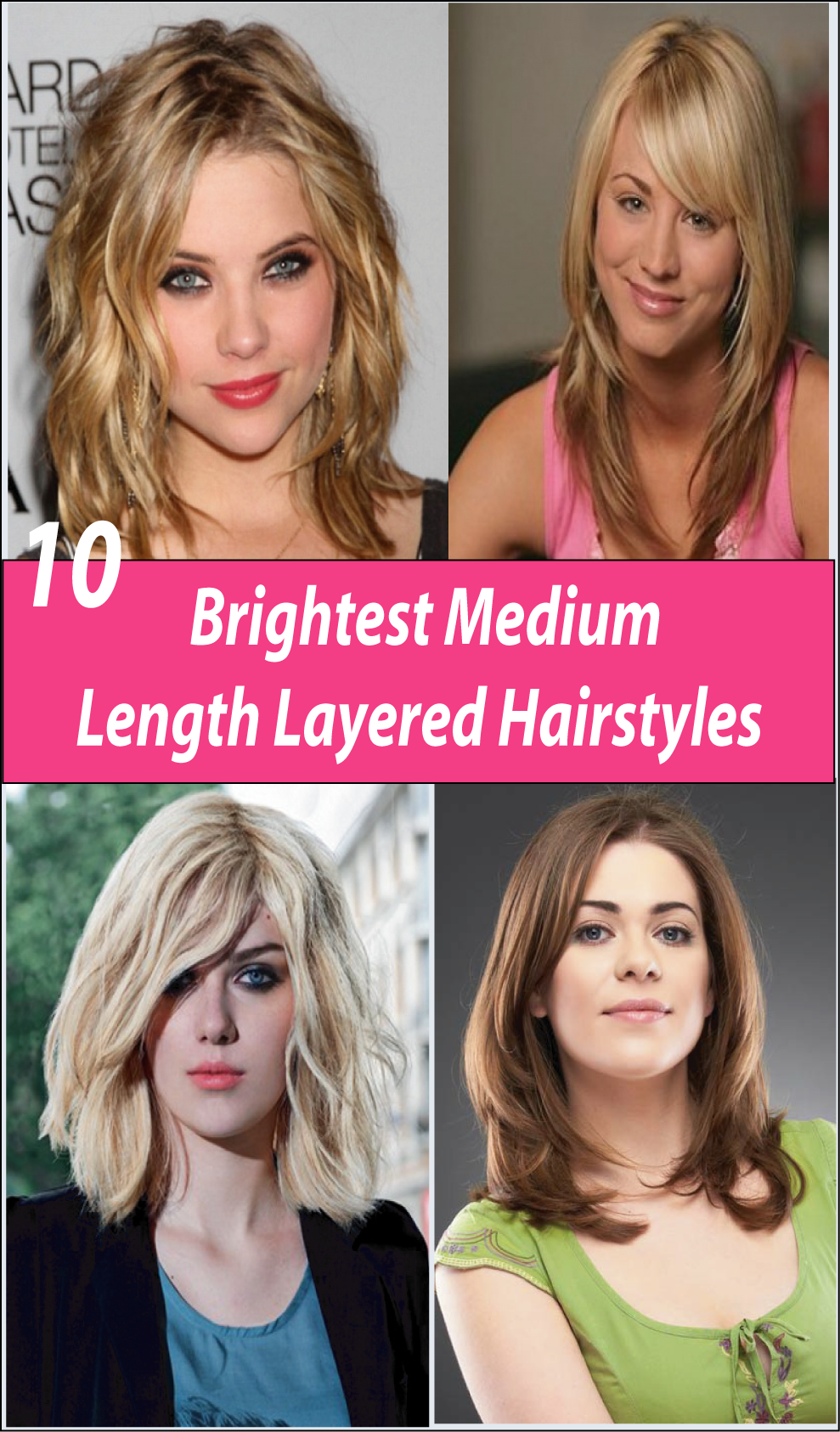 Brightest Medium Length Layered Hairstyles u Must Try  Medium