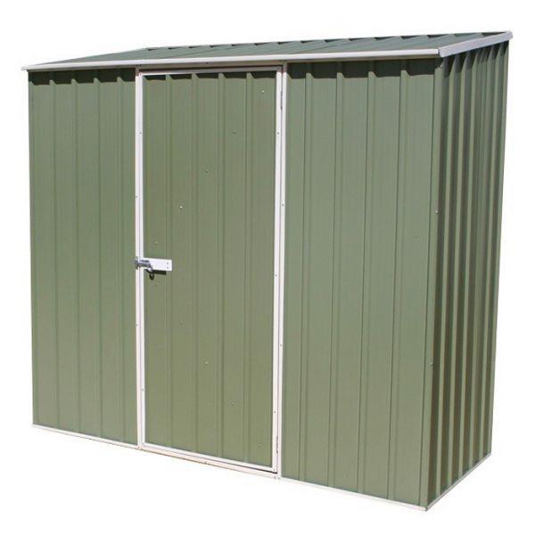 Genial Avon 7u0027 X 3u0027 Green Titanium Pent Metal Shed