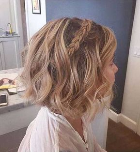 Bonito Peinado De Pelo Ideas Para El Pelo Corto Peinados Novia Pelo Corto Peinados Para Poco Pelo Peinados Fiesta Pelo Corto