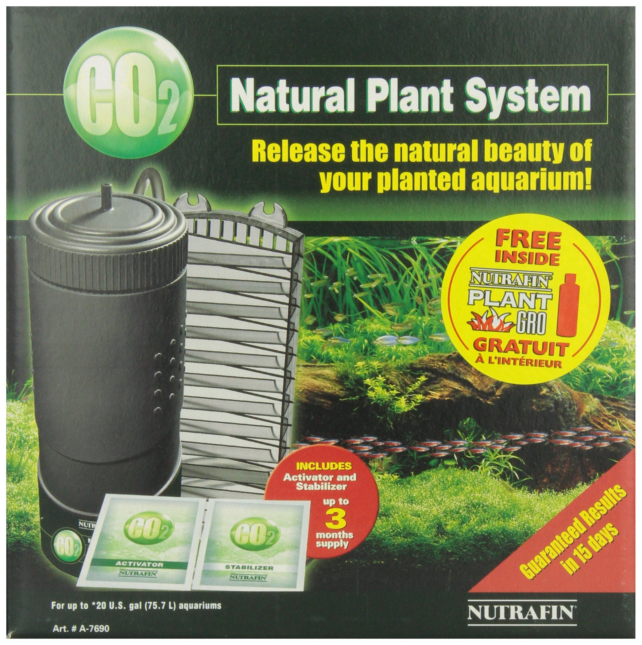 Nutrafin CO2 Natural Plant System -- DIY CO2 recipe for this