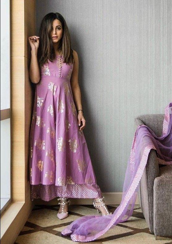 Silk Kurti with plazo set. | Indian dresses, Salwar designs, Dress patterns