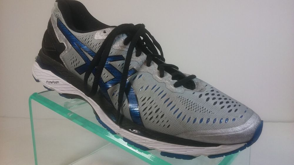 new styles 30eee 49e0a Asics Gel-Kayano 23 Men's Size 9.5 2E /wide/ Gray/Blue ...