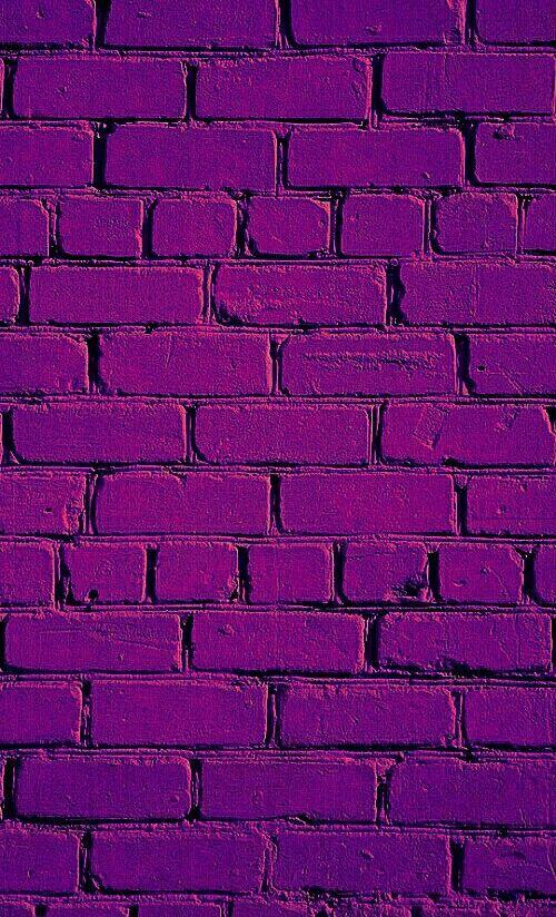 Purple Wallpaper Literally Papel De Parede Tijolo Imagens