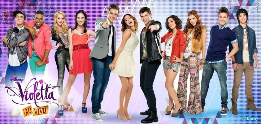 Elenco De Violetta 2 Disney Channel Childhood Tv Shows Martina