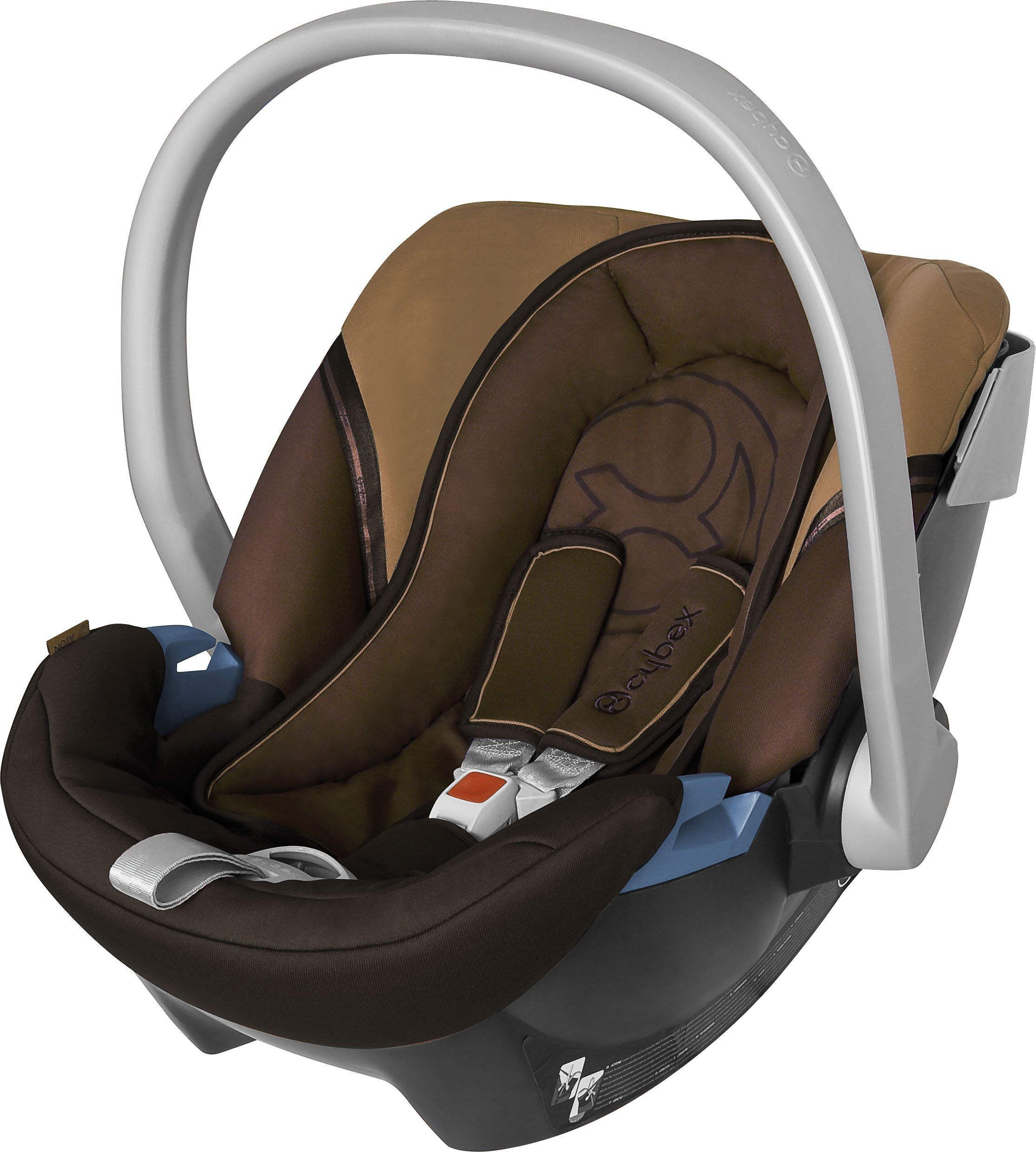 Bezug f/ür Babyschale Komplett-Set EULE $12//DUNKELGRAU BAMBINIWELT Ersatzbezug f/ür Maxi-Cosi CabrioFix 6-tlg
