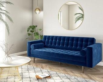 Sofa Etsy Uk Home Decor Living Room Trends Large Sofa