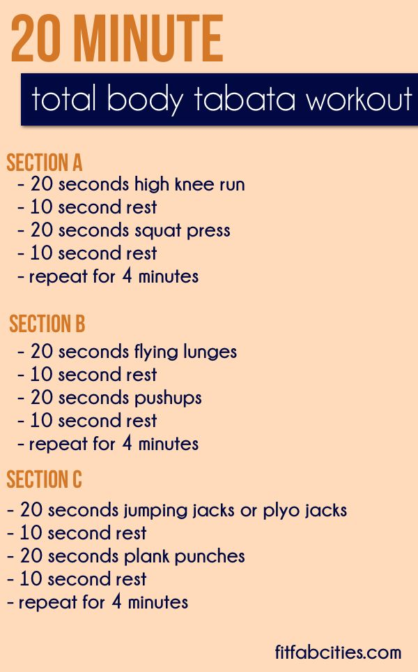 Try This 20 Min Workout And Let Me Know How You Feel When Done Effectiveworkouts Tabata