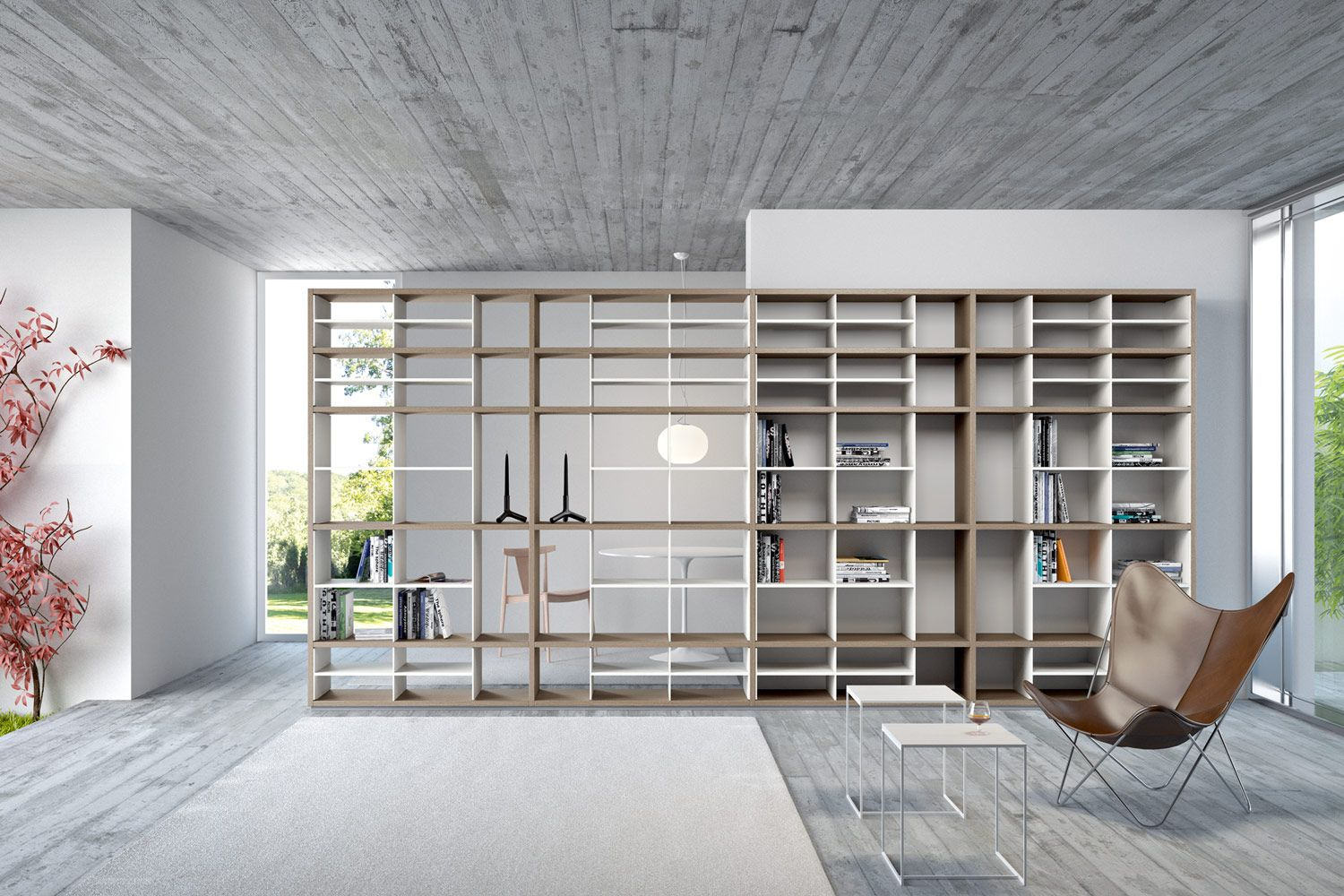 Fortepiano Bookshelves And Multimedia Molteni C Interiors  # Giellesse Muebles