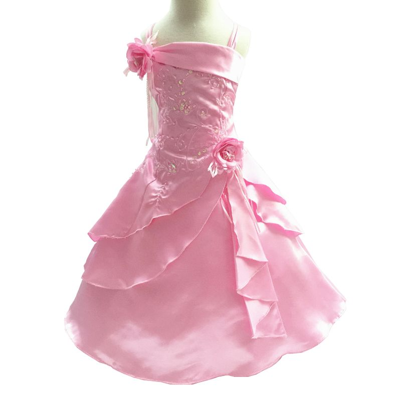 f71502710875 Click to Buy    Factory sales 4-10 Years Girl Party Dress Embroidery ...