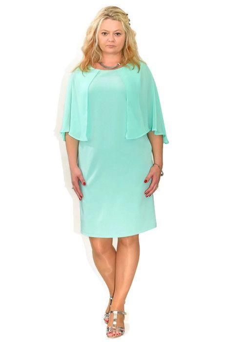 1a142fd941 Elegancka sukienka plus size MARIGOLD 40-60 na wesele - XELKA odzież ...