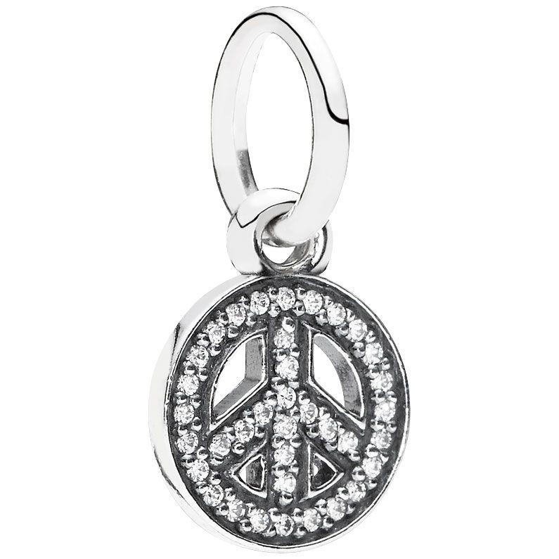 Pandora Symbol Of Peace Charmpendant Jewelry Pinterest