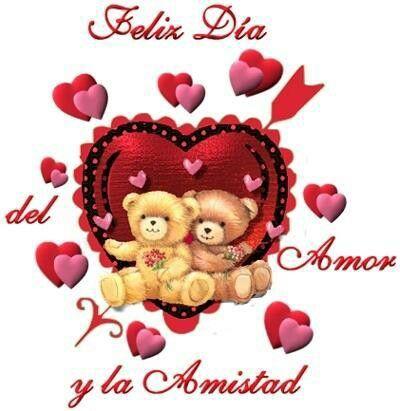 Un Corazon Grande Y Barios Chiquitos Valentines Happy Wishes Minnie