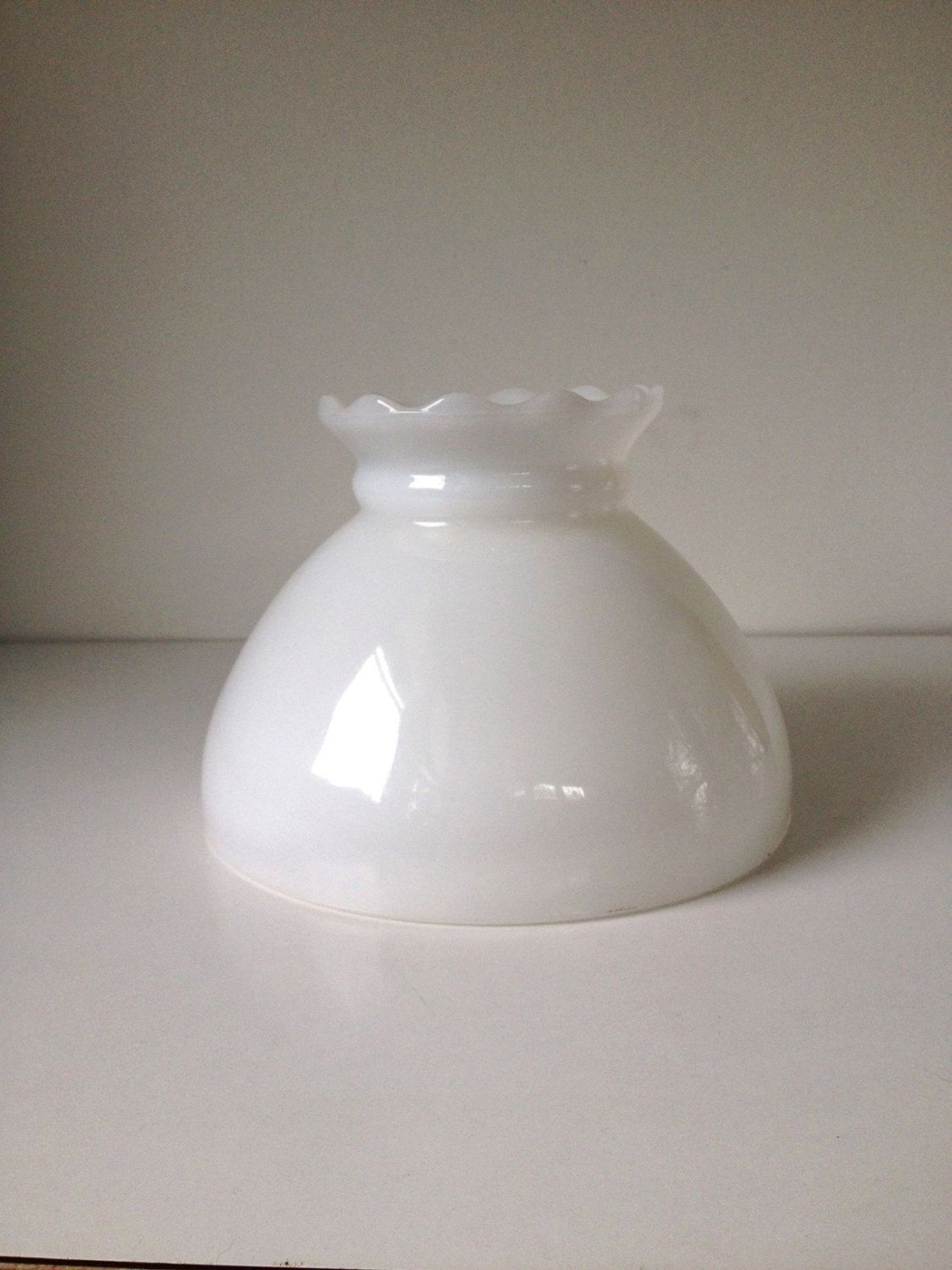Student lamp shade white 8 fitting vintage glass lamp shade white student lamp shade 8 fitting vintage glass lamp shade replacement by sarahloveslamps on etsy aloadofball Choice Image