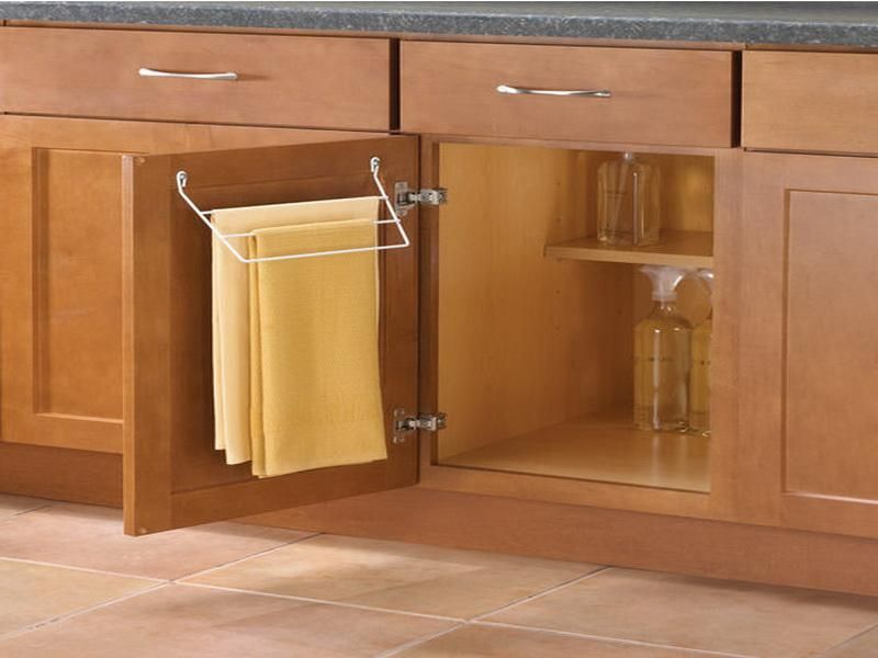Kitchen Towel Holder Ideas — Kitchen Trends | Towel rack ...
