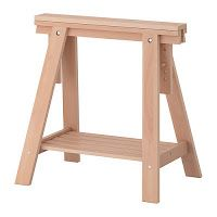 construye una mesa rstica con caballetes