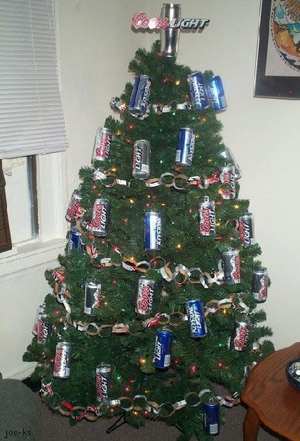 redneck christmas tree