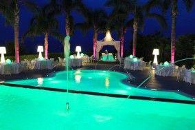 ricevimento bordo piscina