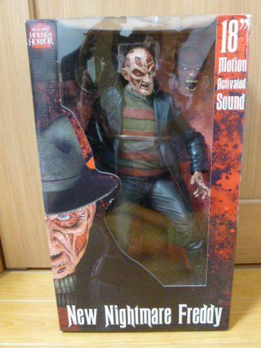 NECA Cult Classic New Nightmare 18'' Freddy Krueger Figure Motion Activated 634482397985 | eBay