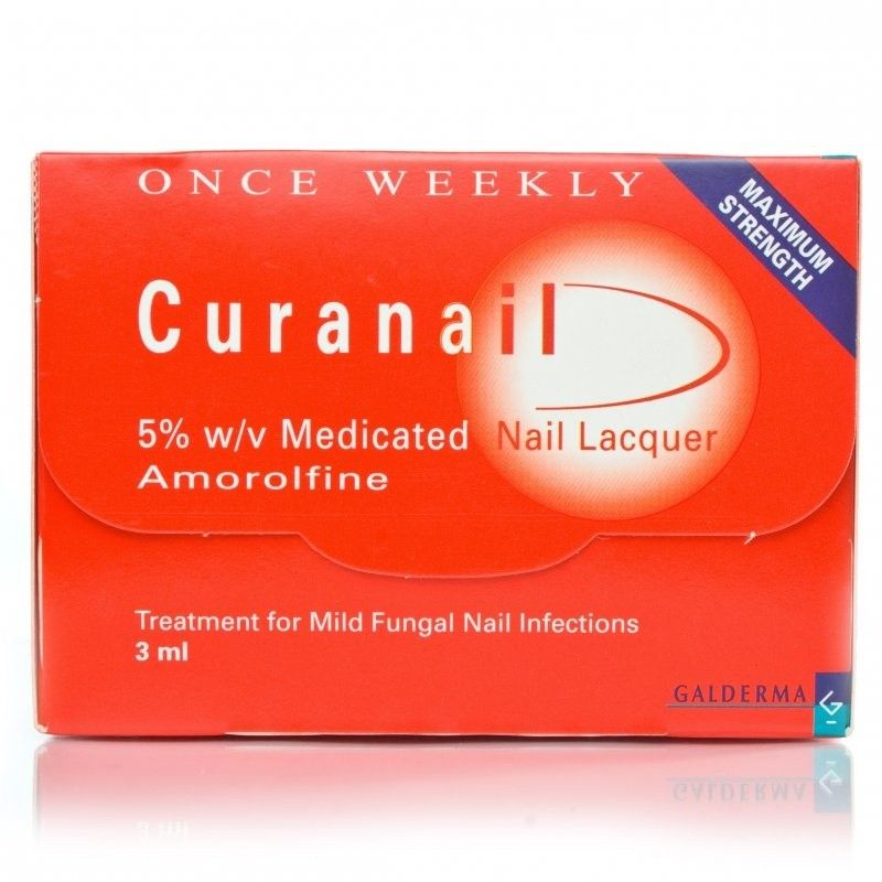 Curanail Nail Lacquer is designed to treat nail infections in an ...