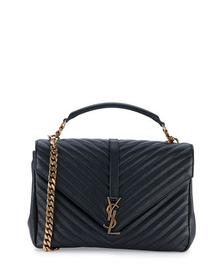 Saint Laurent Monogram College Large Chain Shoulder Bag 35ecc601b0786
