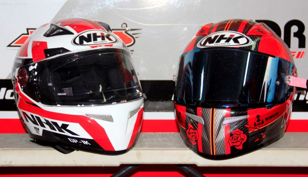 af4c5f5e Daftar Harga Helm NHK Full Face dan Half Face Terbaru | Aksesoris Motor