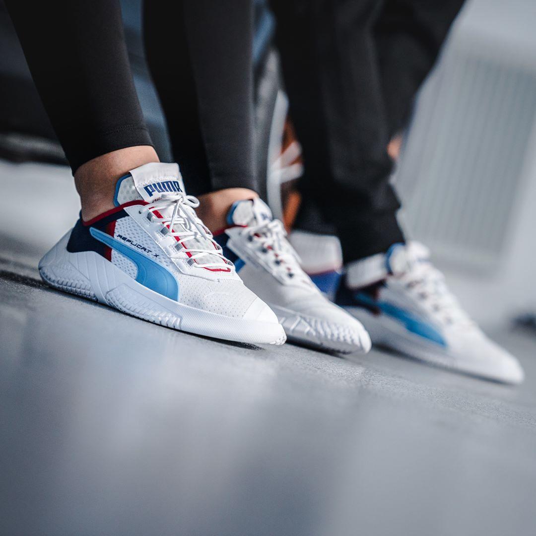 Blau Puma Sneakers Damen Schuhe Online Kaufen