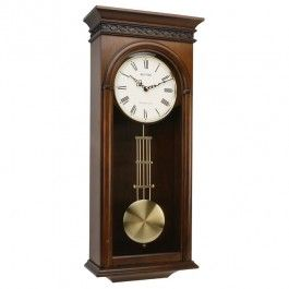 Rhythm Wooden Pendulum Wall Clock Westminster Chime