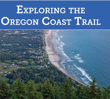 The Oregon Coast Tail was designated in 1975, making this its 40th anniversary. Covering 400 miles, the trail is still a work in progress as the route switches between beach walking, hiking trails and walking along roads and highways.