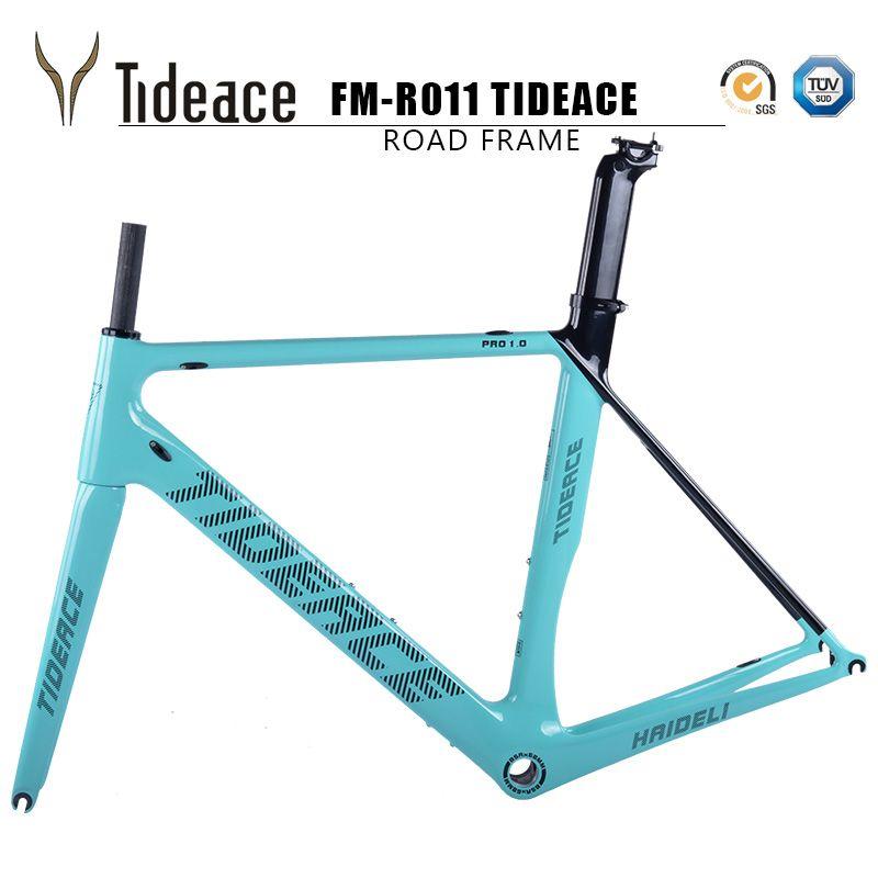 2017 Tideace ed2 cuadro de bicicleta de fibra de carbono y Mecánico ...