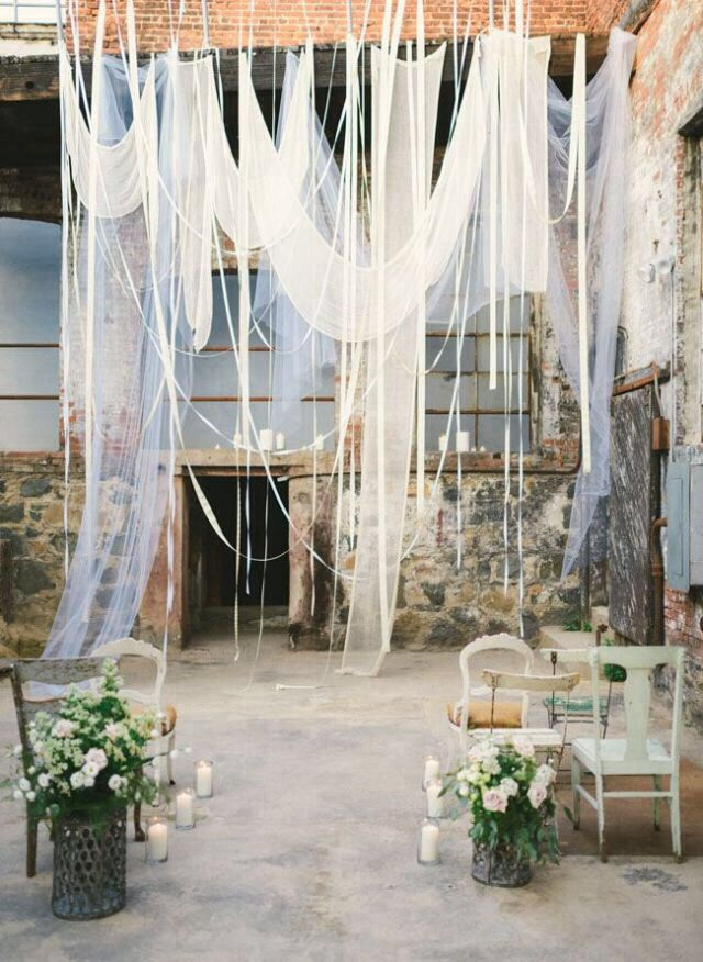 The Of D Fabric And Ribbons This Is Beautiful Very Much In Love With Ribbon Wedding Decor Plan I Know It Will Look Perfect