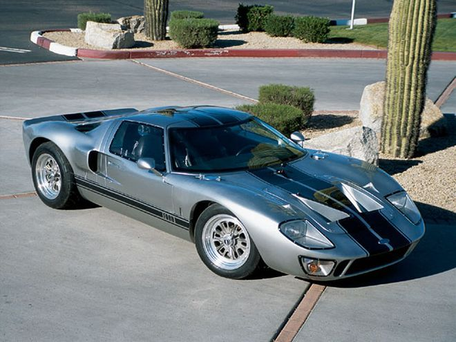 Ford Gt40 Kit Car One Of The Most Successful Racing Efforts Ever