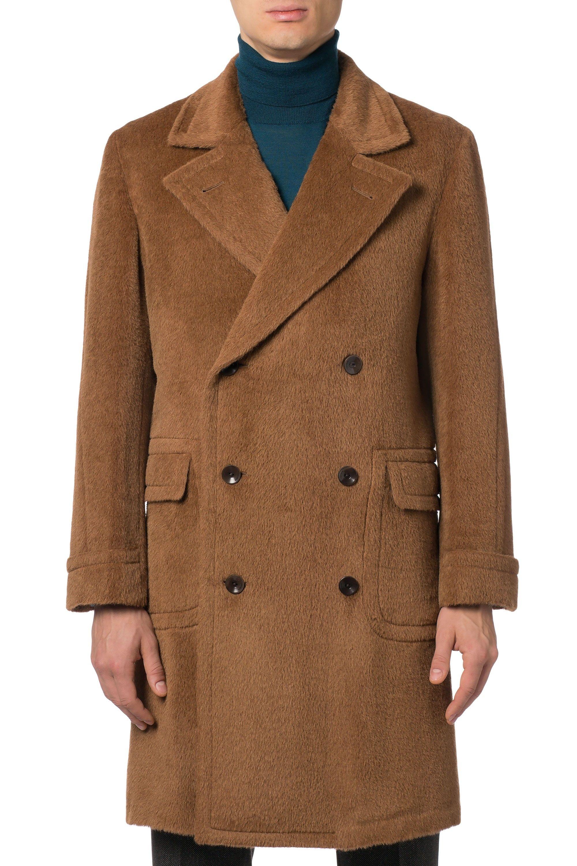 Boglioli Dover double-breasted Alpaca coat