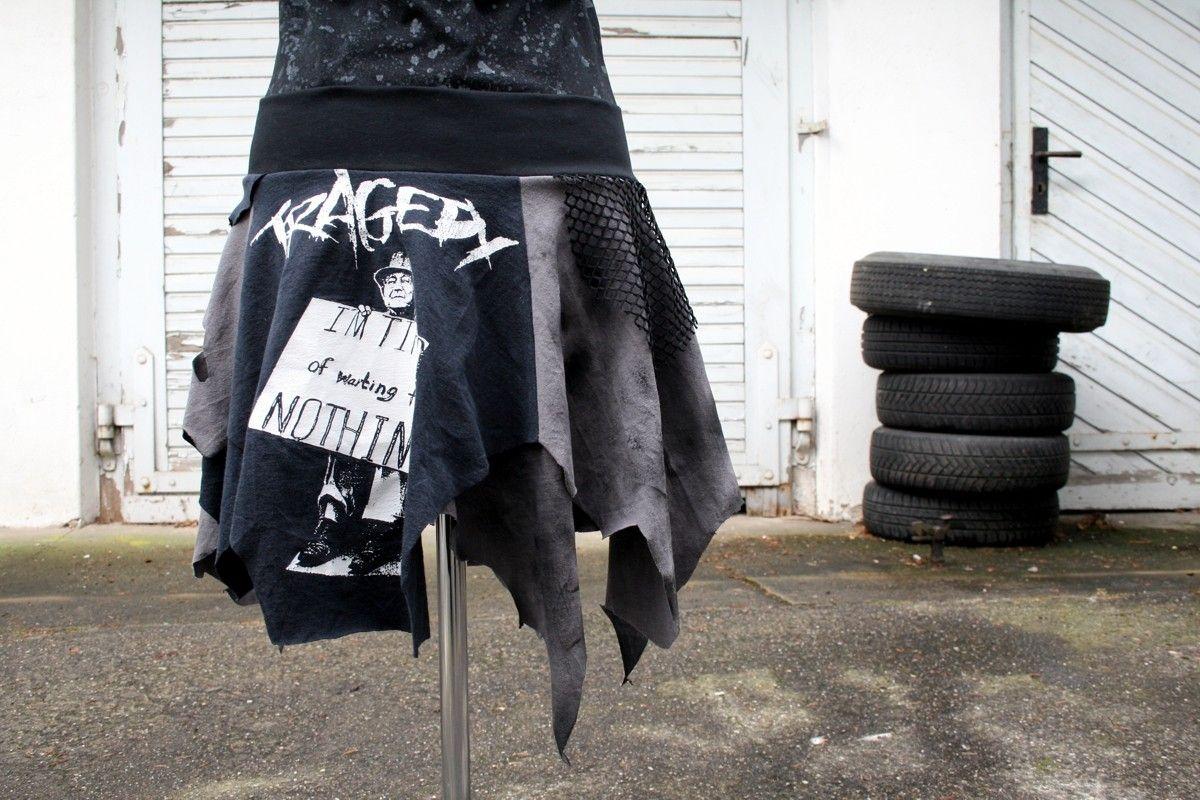 Rags and Tragedy mein neuer Rock Zebraspider DIY Anti