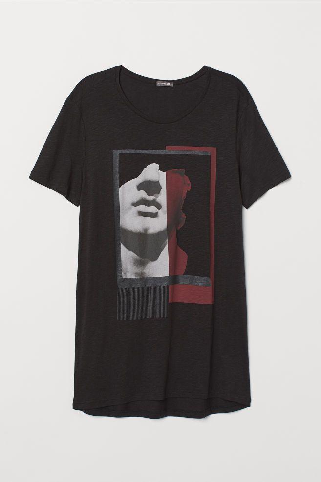 14581e2d753 Lang T-shirt med tryk in 2019   My Wishlist   Shirts, T shirt, Prints