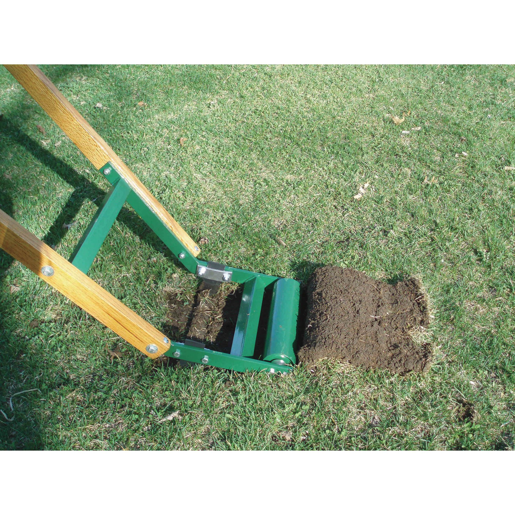 The Quail Manual Kick Type Sod Cutter Edger Easily Removes Sod For Patios Gardens And Landscaping U S A Sod Cutter Lawn And Garden Sod