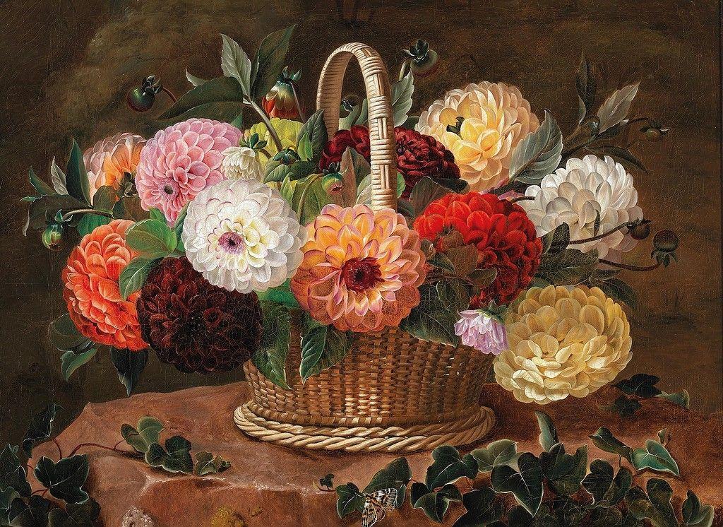 Живопись картинки натюрморт цветы