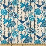 Premier Prints Menagerie Arctic Blue/Natural