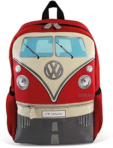 Photo of New BRISA VW Collection VW T1 Bus Backpack Small – Red online shopping – Looknewfashion
