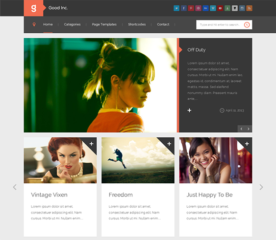24 of the Best Free & Premium Flat WordPress Themes   Evohosting