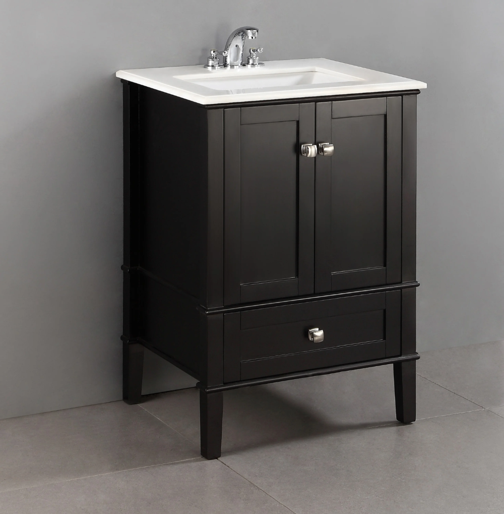 "Charlton Home Burholme 6"" Single Bathroom Vanity Set & Reviews"