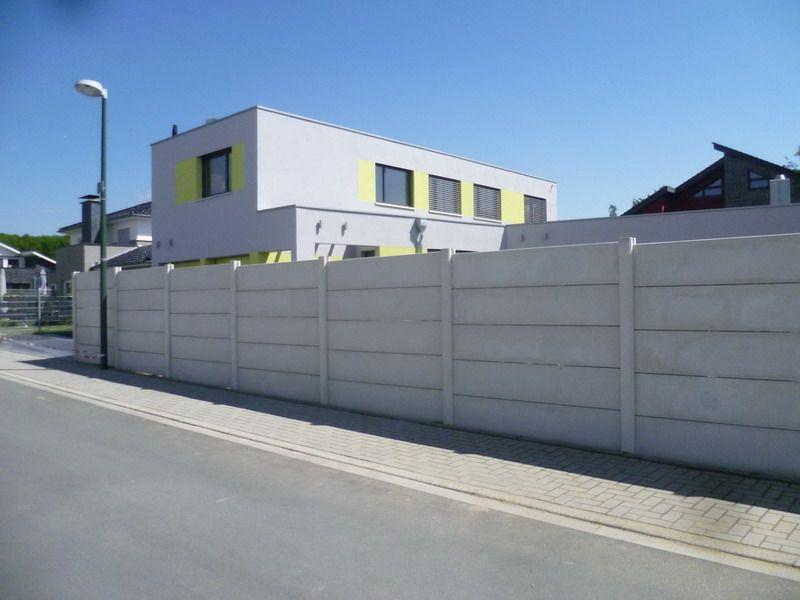 betonzaun fels - steinoptik, betonzäune dortmund - gartenbau und, Garten ideen