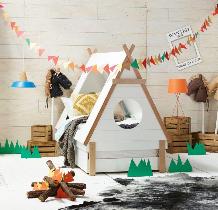 Lit Enfant Cabane Et Solutions Originales Pour Fille Et