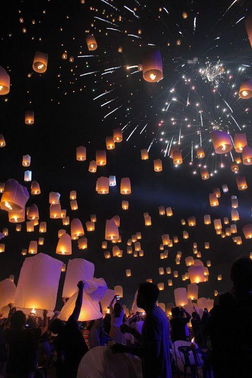 Chiang Mai, Thailand Travel Thailand lantern festival Thailand bucket list