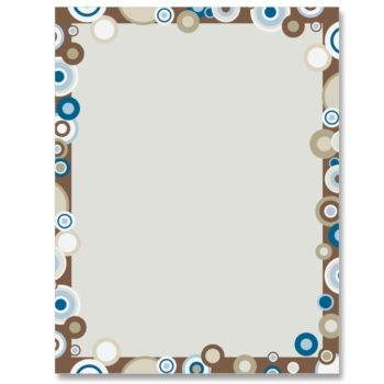 Full Circle Designed Paperframes Border Paper By Paperdirect